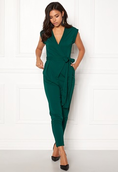 Make Way Elle Jumpsuit Dark green Bubbleroom.fi