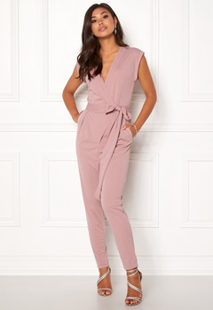 Make Way Elle Jumpsuit Dusty pink Bubbleroom.fi