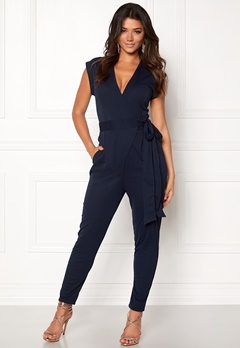 Make Way Elle Jumpsuit Midnight blue Bubbleroom.fi
