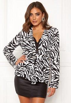 Make Way Elly soft blazer Zebra Bubbleroom.fi