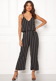 Make Way Floria jumpsuit Black / White Bubbleroom.fi