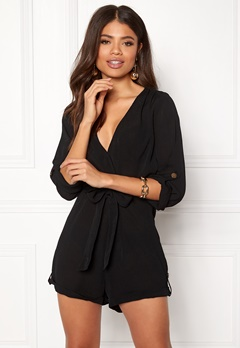 Make Way Flynn Playsuit Black Bubbleroom.fi