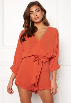 Make Way Flynn Playsuit Rust Bubbleroom.fi