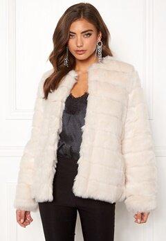 Make Way Freia faux fur jacket Cream Bubbleroom.fi