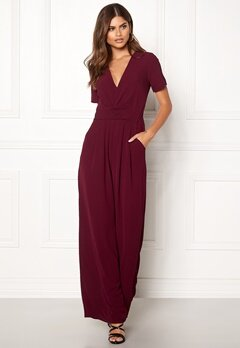 Make Way Harlee jumpsuit Wine-red Bubbleroom.fi