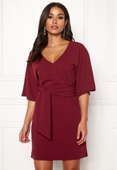 Make Way Joelle dress Dark red Bubbleroom.fi