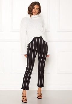 Make Way Joline trousers Black / Striped Bubbleroom.fi