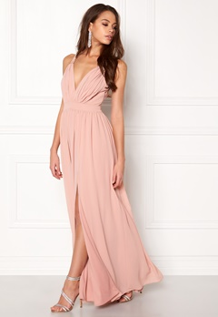 Make Way Jonna Maxi Dress Dusty pink Bubbleroom.fi