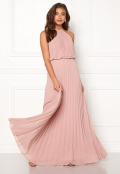 Make Way Leilani maxi dress Dusty pink Bubbleroom.fi