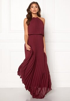 Make Way Leilani maxi dress Wine-red Bubbleroom.fi