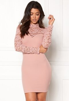 Make Way Luna Dress Dusty pink Bubbleroom.fi