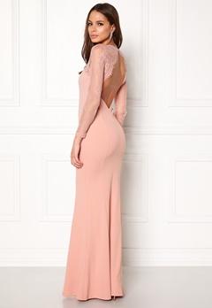 Make Way Melody Dress Dusty pink Bubbleroom.fi