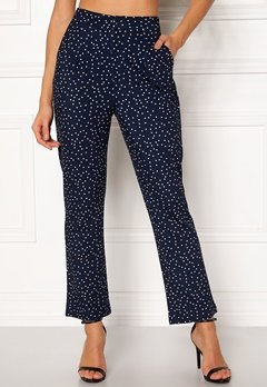 Make Way Nadine trousers Blue / White / Dotted Bubbleroom.fi