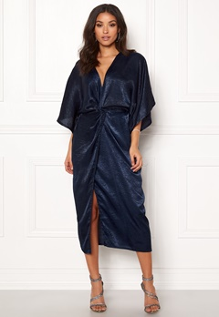 Make Way Nikki kimono dress Navy Bubbleroom.fi