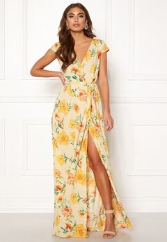 Make Way Odette dress Beige / Floral Bubbleroom.fi