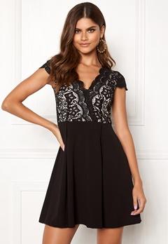 Make Way Rachel lace dress Black / Beige Bubbleroom.fi
