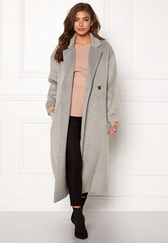 Make Way Ruth long coat Light grey Bubbleroom.fi