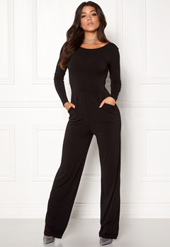 Make Way Sage Jumpsuit Black Bubbleroom.fi