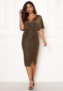Make Way Selena sparkling dress Black / Gold Bubbleroom.fi