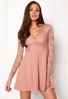 Make Way Shelby Dress Dusty pink Bubbleroom.fi