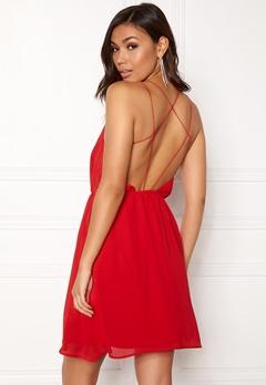 Make Way Sierra Dress Red Bubbleroom.fi