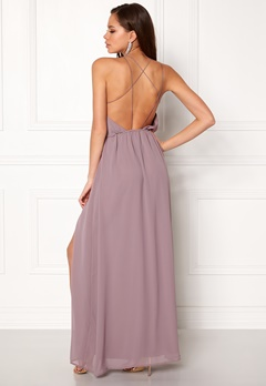 Make Way Sierra Prom Dress Dusty lilac Bubbleroom.fi