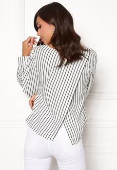 Make Way Sita blouse White / Black Bubbleroom.fi