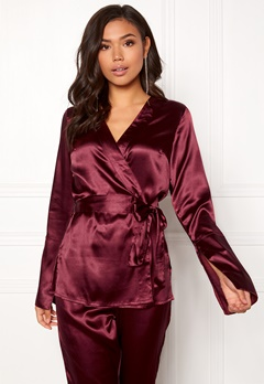 Make Way Tomika jacket Wine-red Bubbleroom.fi