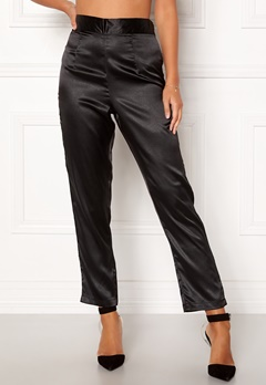 Make Way Tomika trousers Black Bubbleroom.fi