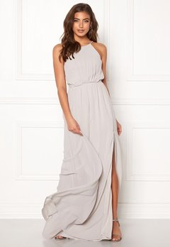 Make Way Vania maxi dress Light grey Bubbleroom.fi