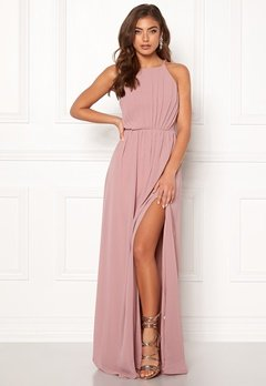 Make Way Vania maxi dress Old rose Bubbleroom.fi
