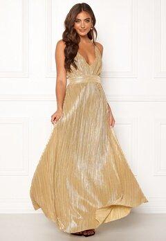Make Way Velora dress Gold-coloured Bubbleroom.fi
