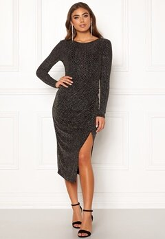 Make Way Olieve sparkling dress Black Bubbleroom.fi