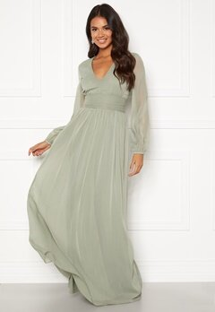 BUBBLEROOM Delilah prom dress Dusty green Bubbleroom.fi