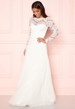 Make Way Fantine wedding gown White Bubbleroom.fi