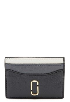 The Marc Jacobs Card Case Black Bubbleroom.fi