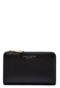 Marc Jacobs Compact Wallet 065 Black Gold Bubbleroom.fi