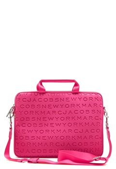 "Marc Jacobs Computer Case 13"" Punch Pink Bubbleroom.fi"