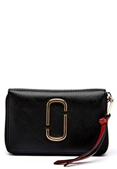 Marc Jacobs Small Standard Wallet 014 Black Bubbleroom.fi