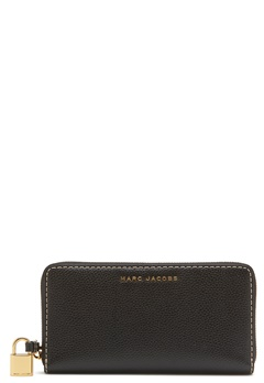 Marc Jacobs Vertical Zippy Purse Black Bubbleroom.fi