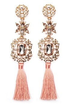 Pieces Maris Earrings Gold Colour Bubbleroom.fi