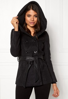 ONLY mary lisa short wool coat black Bubbleroom.fi