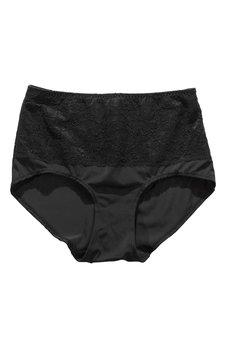 Petite Secrets Maxi-pikkuhousut, 2 kpl pakkauksessa.  Musta+Musta Bubbleroom.fi