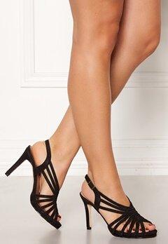 Menbur Glitter Sandals Black Bubbleroom.fi