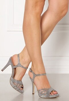 Menbur Glitter Sandals Silver Bubbleroom.fi