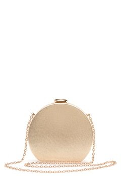 Menbur Metallic Round Clutch Gold Bubbleroom.fi