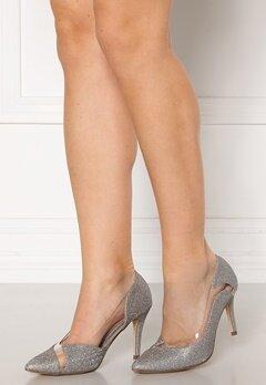 Menbur Sapato Glitter Sandals Silver Bubbleroom.fi