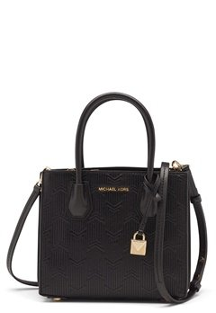 Michael Michael Kors Acrdion Messenger Bag Black Bubbleroom.fi