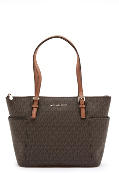 Michael Michael Kors Jet Set Tote Bag 252 Brown/Acorn Bubbleroom.fi