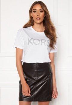 Michael Michael Kors Kors Graphic T-Shirt 100 White Bubbleroom.fi